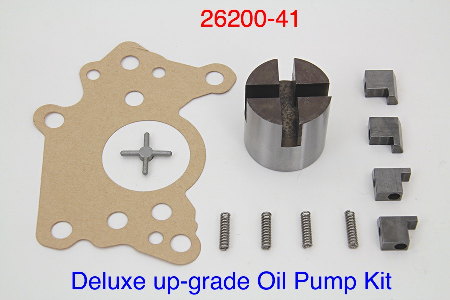 DELUXE Oil Pump Up-Grade Kit with 4 vanes ect. 26200-41