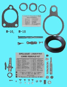 Deluxe Carb Rebuild Kit M-18 27133-36