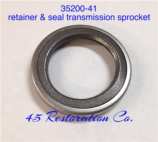 Seal and Retainer for transmission sprocket 1941-73 35200-41