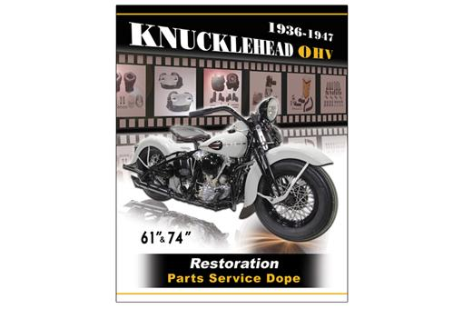 Knucklehead Restoration 492 page Book 48-0928