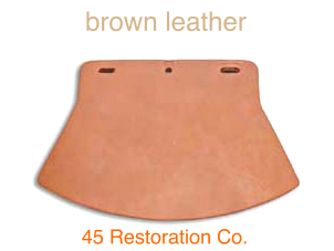 BROWN LEATHER MUD FLAP 59235-26L