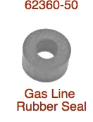 Rubber Gas line Rubbers 1950-up 62360-50