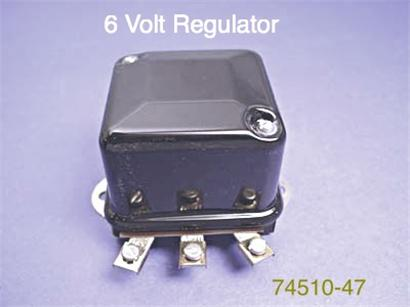 6 volt regulator 74510-47