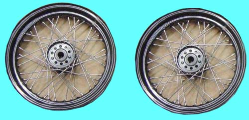 "Rear 16"" Wheels (2) 1940-50 Servi-Car 83904-40"
