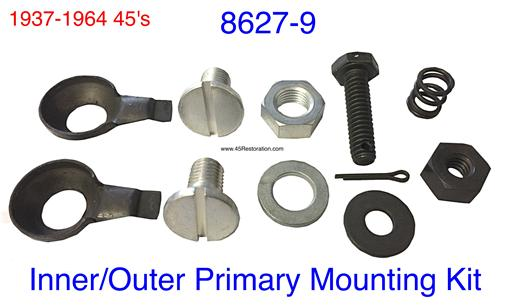 Inner Primary Cover Mounting Kit - 1930-64 8627-9