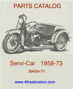 SERVI-CAR PARTS CATALOG 99454-71