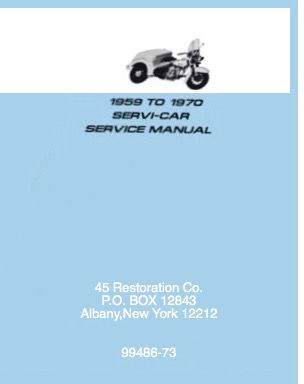 Servi-Car Manual 99486-73