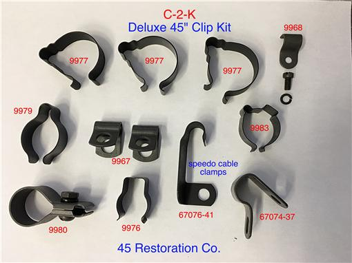Deluxe Wire Clip Kit C-2-K