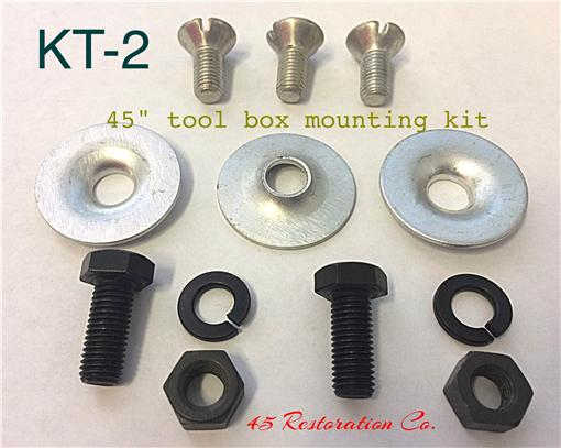 MOUNTING KIT-TOOL BOX KT-2